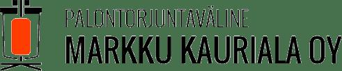 Palontorjuntaväline Markku Kauriala Oy Logo